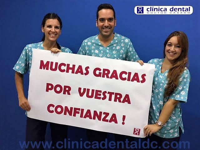 clinicadentaldc.com Muchas Gracias por vuestra confianza!
